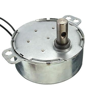 MASUNN 2.5-3Rpm Giratorio Motor Sincrono 220-240V Ac Motor ...
