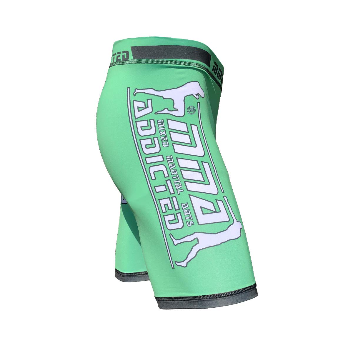 MMA Addicted Compression Shorts Irish Green