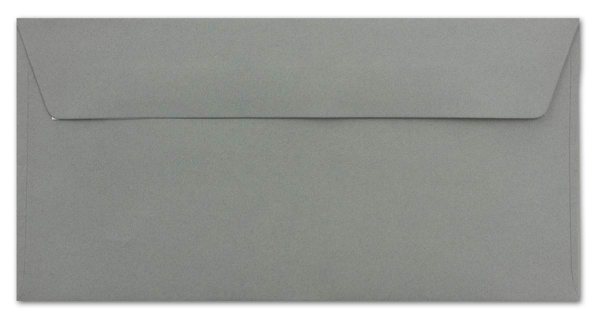 110 g//m/² 110 x 220 mm Honiggelb Qualit/ätsmarke: FarbenFroh/® 25 Brief-Umschl/äge DIN Lang Haftklebung sehr formstabil