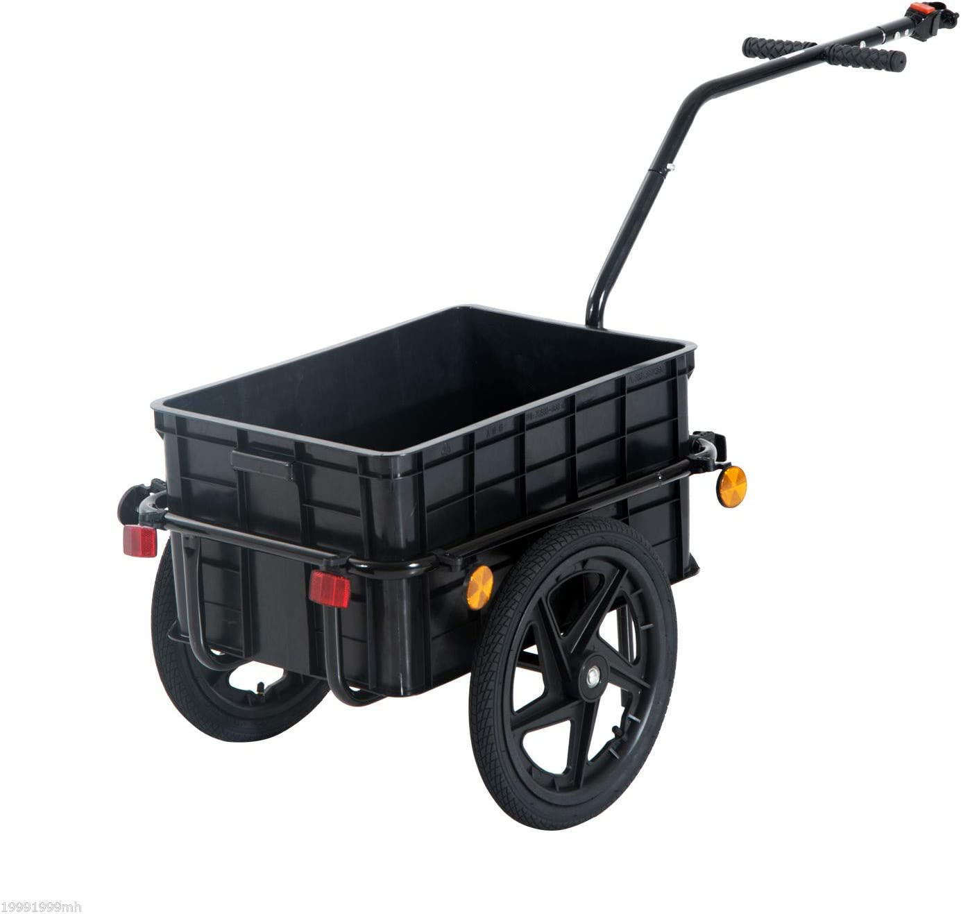 Associated product image for Aosom Multi-Functional Bicycle Cargo Trailer