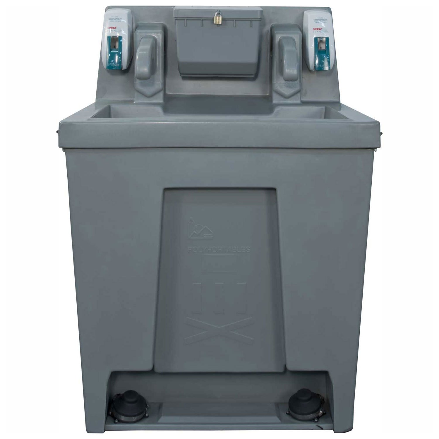 PolyPortables PPST-05, Super Twin Freestanding Hand Wash Station