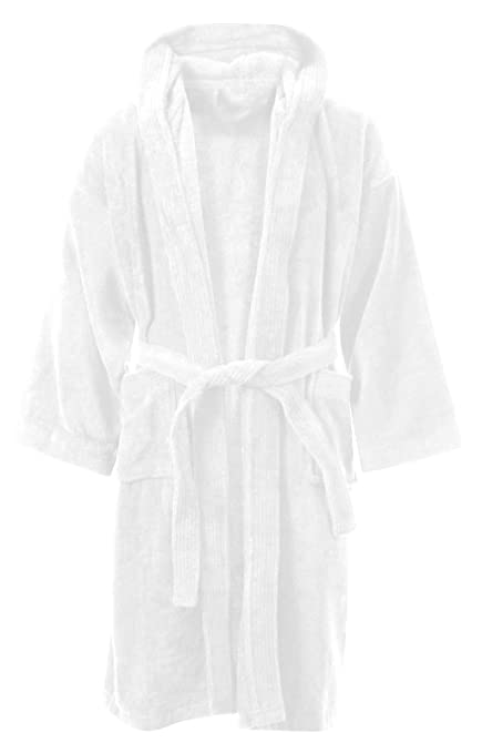 100/%Egyptian Cotton Toweling Bath Robe Unisex Dressing Gown Luxury Terry Towel