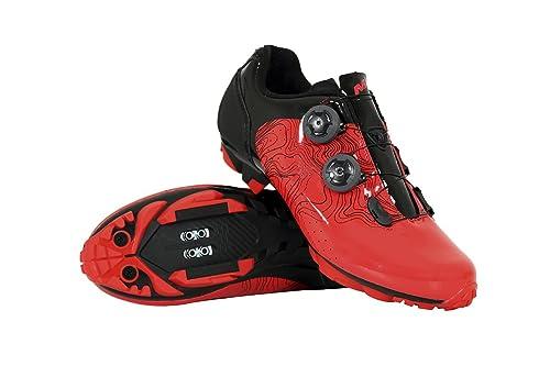 Massi MTB ERGON Red T.39, Zapatillas de Ciclismo de montaña Unisex Adulto, Rojo Rojray, 39 EU: Amazon.es: Zapatos y complementos