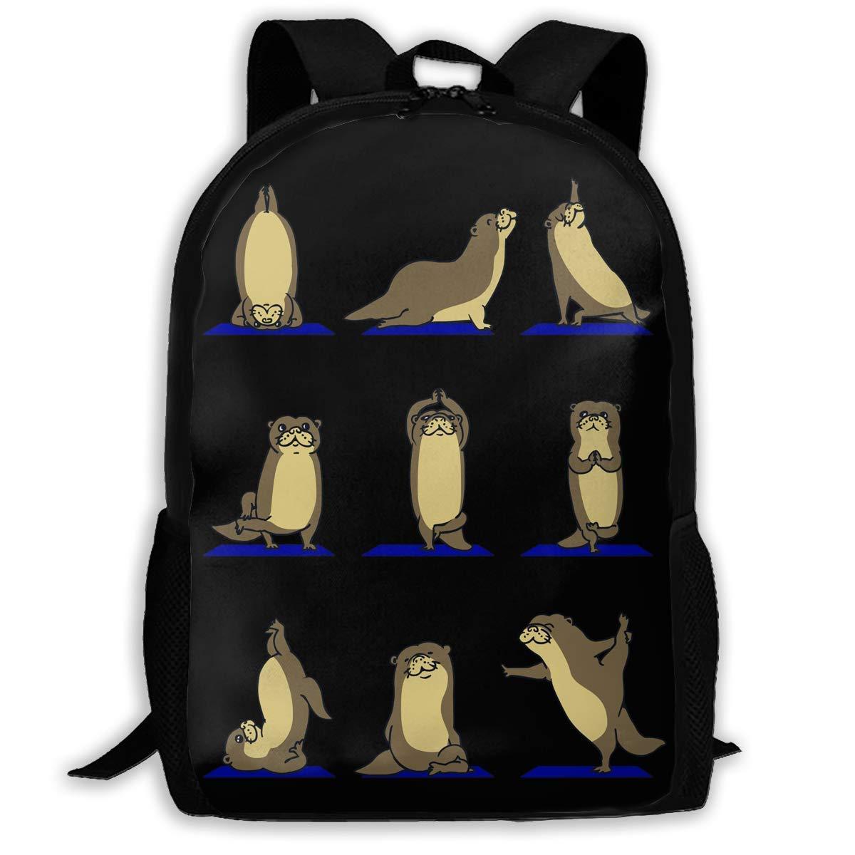 Amazon.com: Otter Yoga Backpack Laptop Bags Shoulder Bag ...