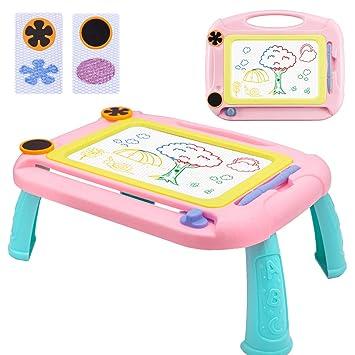 Pizarra Magnética Infantil Colorido, Doodle Sketch Pad ...