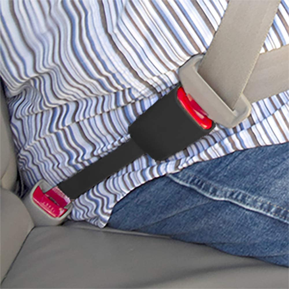 Seat Belt Extender Pros E4 Certification Rigid 5 Inch Seat Belt Extender Black Buckle in and Drive Comfortably 7//8 Inch Wide Type A Metal Tongue