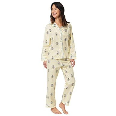 The Cats Pajamas Queen Bee Womens Cotton Pajama X-Small