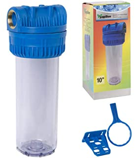 RC - Filtro Agua Portacartuchos, Filtro Malla Lavable, Vaso ...