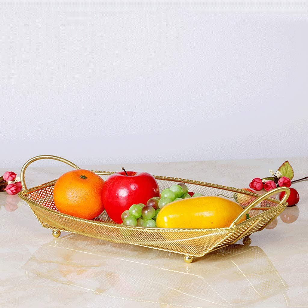 JXJJD Cesta de Frutas Creativa Plato de Frutas de Drenaje Plato de Frutas Moderno Cesta de Frutas de Moda Plato de Frutas secas Sala de Estar Cesta de ...