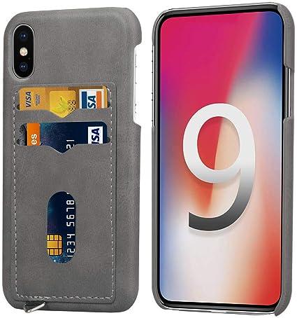 Amazon   iPhoneXsMaxケース、スマホケース カード収納 財布型 耐衝撃 ...