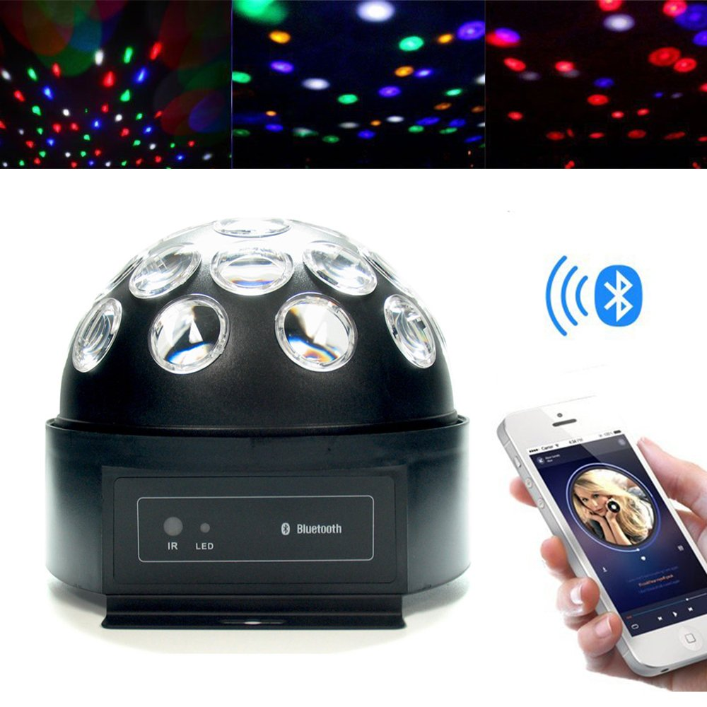 Super LED Dome Light with Bluetooth Speaker