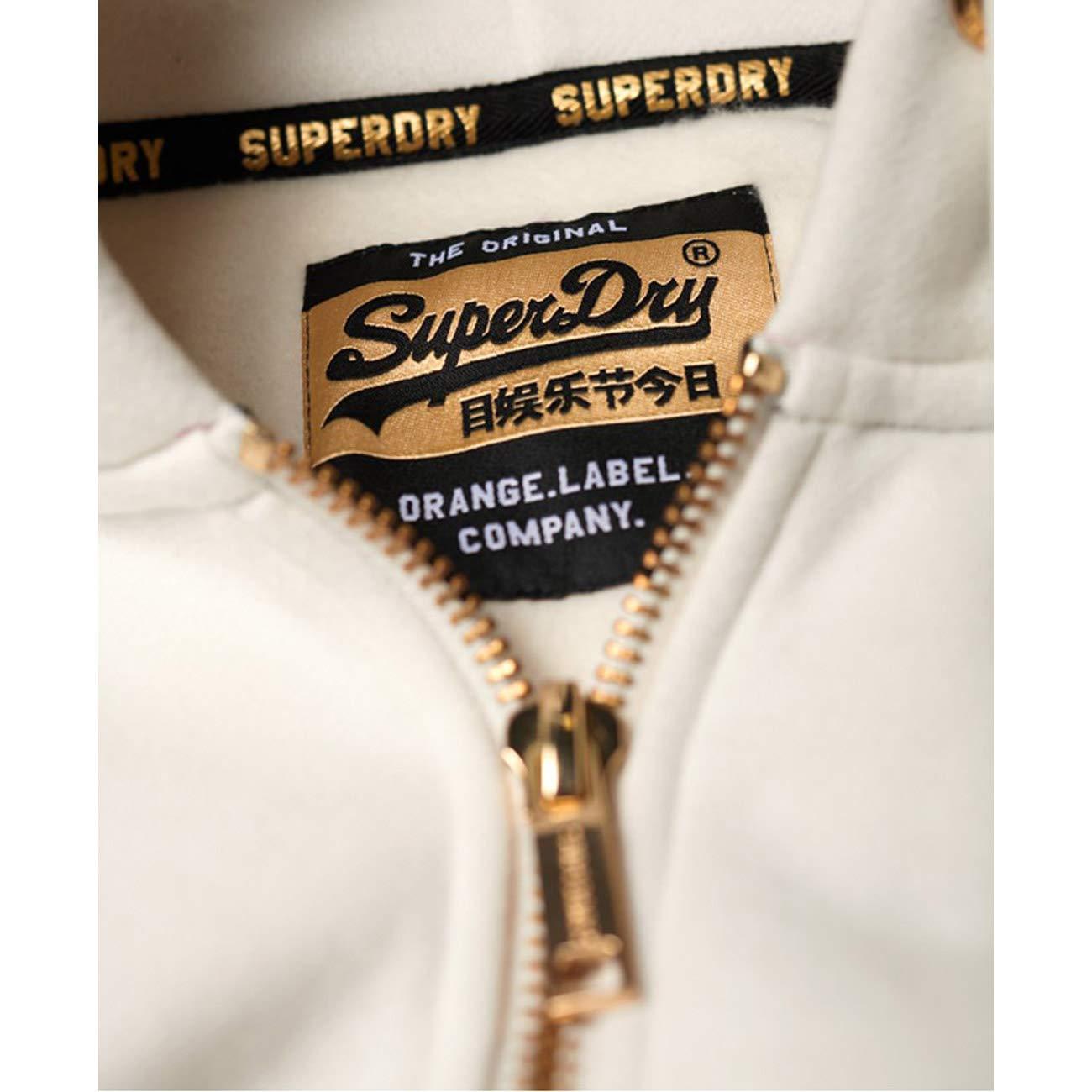 Superdry Orange Label Elite Lite Ziphood Capucha para Mujer
