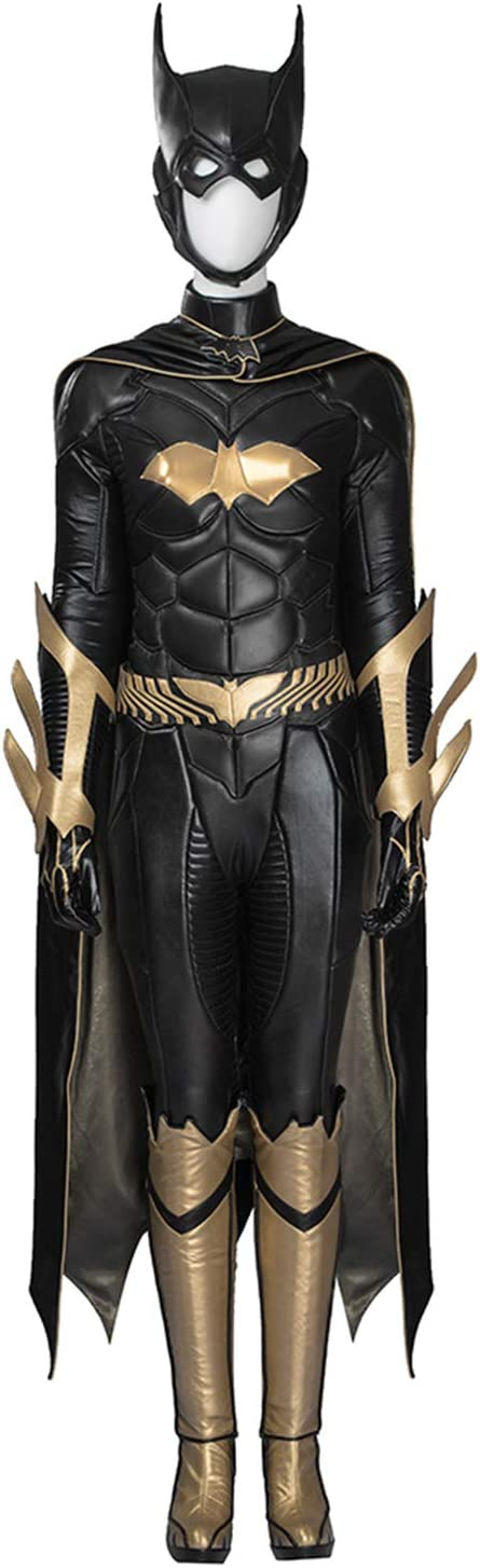 QWEASZER Batman Arkham Knight Batgirl Disfraz Mujer Adulto Mono ...