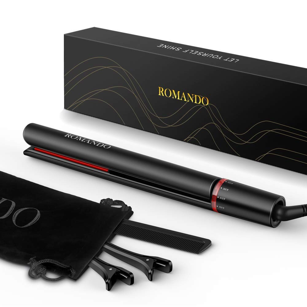 Romando Hair Straightener And Curler