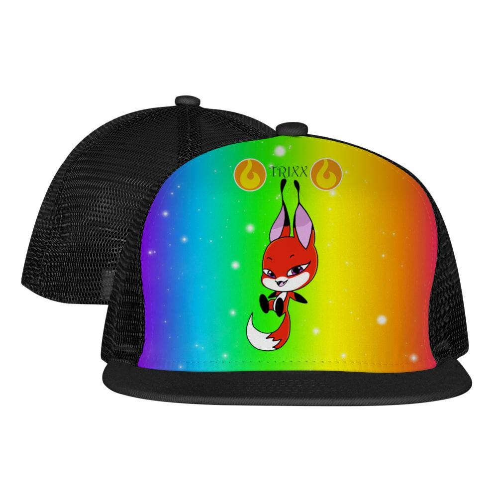 Miraculou/_s Lady/_Bug Tri/_xx Unisex Mesh Cap Fitted Adjustable Fashion Baseball Hats