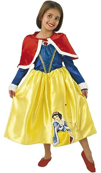 Princesas Disney - Disfraz de Blancanieves de Invierno para niña ...