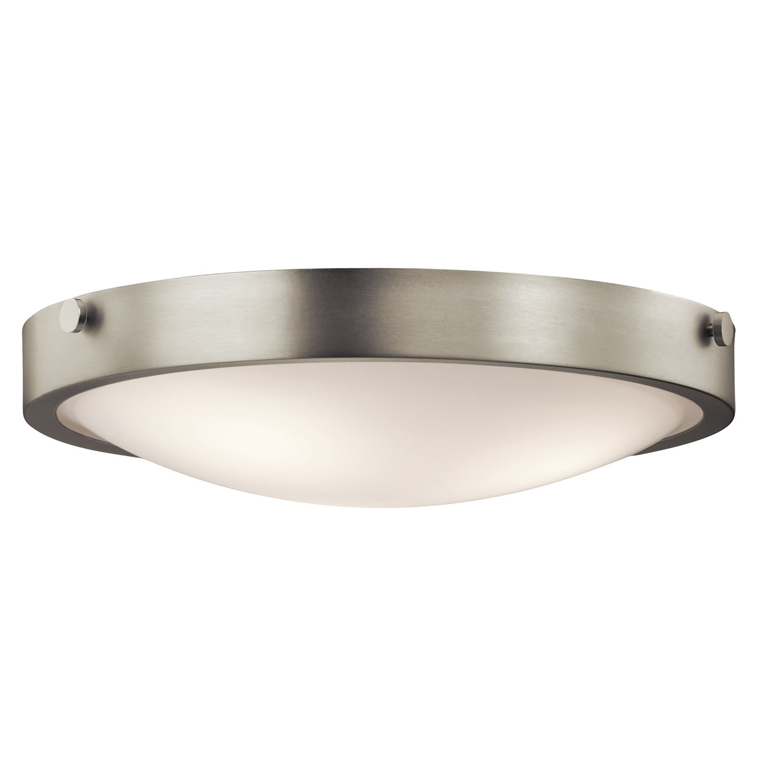 Kichler NI Three Light Flush Mount Close To Ceiling Light