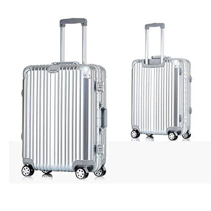 Color : Black 20 Carry-On Checked Suitcase Minmin-lgx Luggage Lightweight Hardside 4-Wheel Spinner Luggage Set