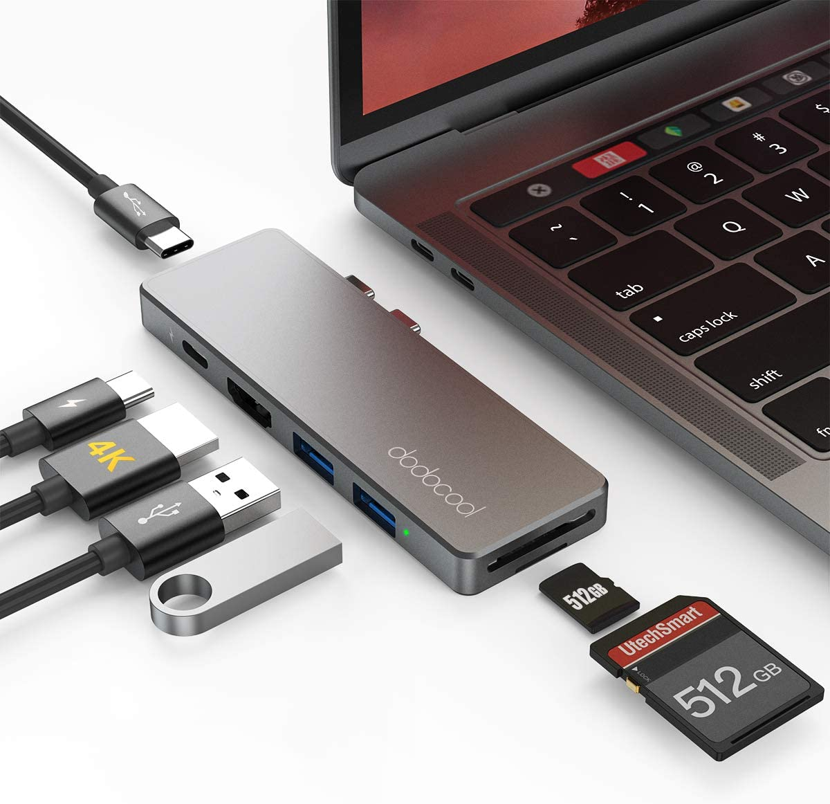 Amazon coupon code for USB C Hub Adapter for MacBook Pro