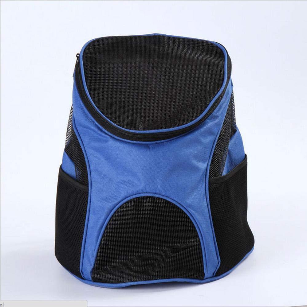 B Aoligei Nylon Double Shoulder Messenger Bag Portable Dog Bag cat cage, 30  25  35cm