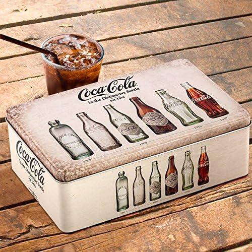 OUTLET Caja Vintage Metálica Coca-Cola (Sin Embalaje): Amazon.es ...