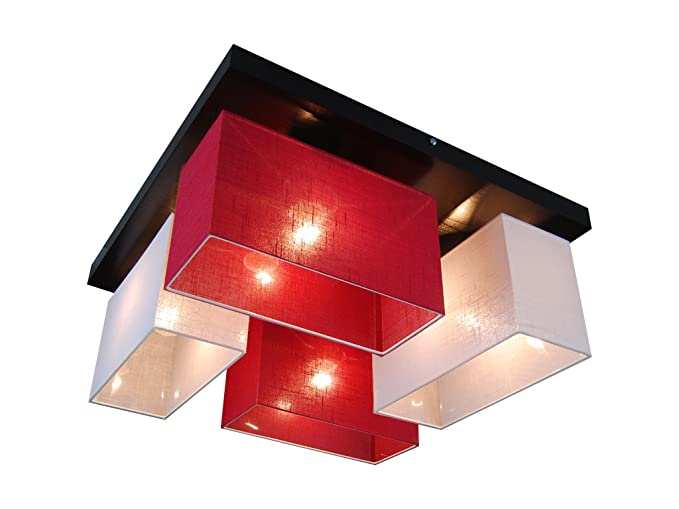 Plafoniere Con Base In Legno : Plafoniera illuminazione a soffitto in legno massiccio jls werod