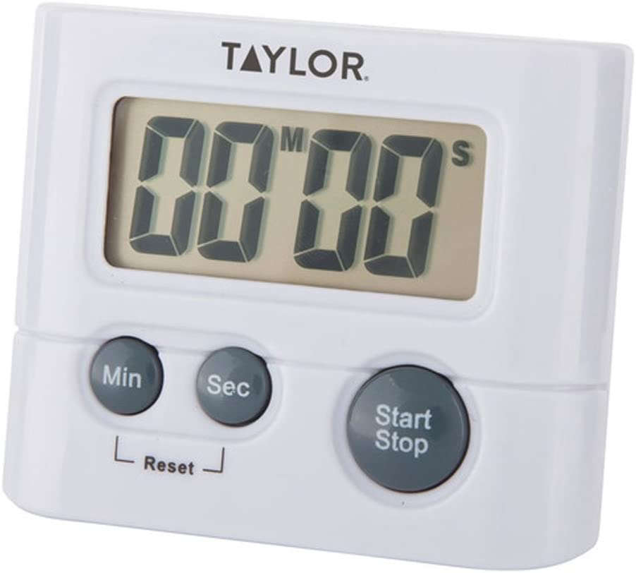 Taylor Precision Products 5827-21 Digital Timer, Displays up to 99 minutes, 59 seconds