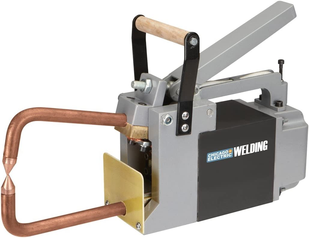 """12/"""" Reach Spot Welding Arms Tongs w// 1//8/"""" Tips Include Chicago Electric Fit"""