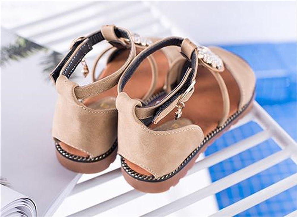 Girls Sandals Sparkle Beach School Shoes 2018 New Roman Sandals Girls
