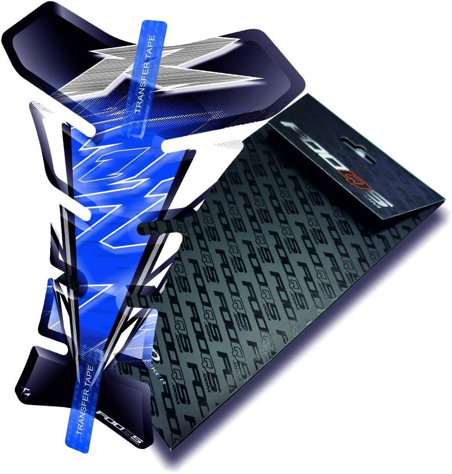 Blau Fooqs Tankpad f/ür Yamaha YZF R1 YzfR1