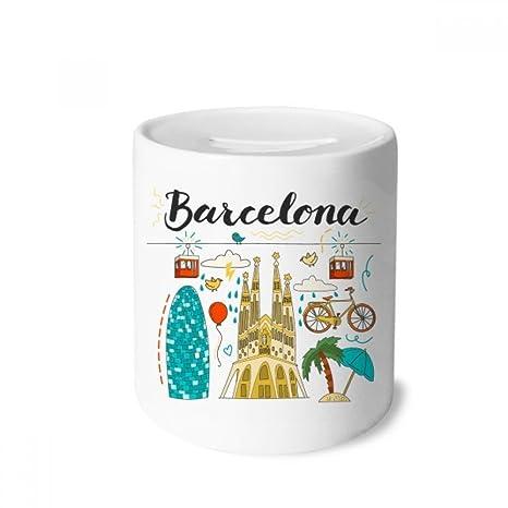 DIYthinker Barcelona, ??España Sagrada Familia Caja de Dinero de Las Cajas de ahorros