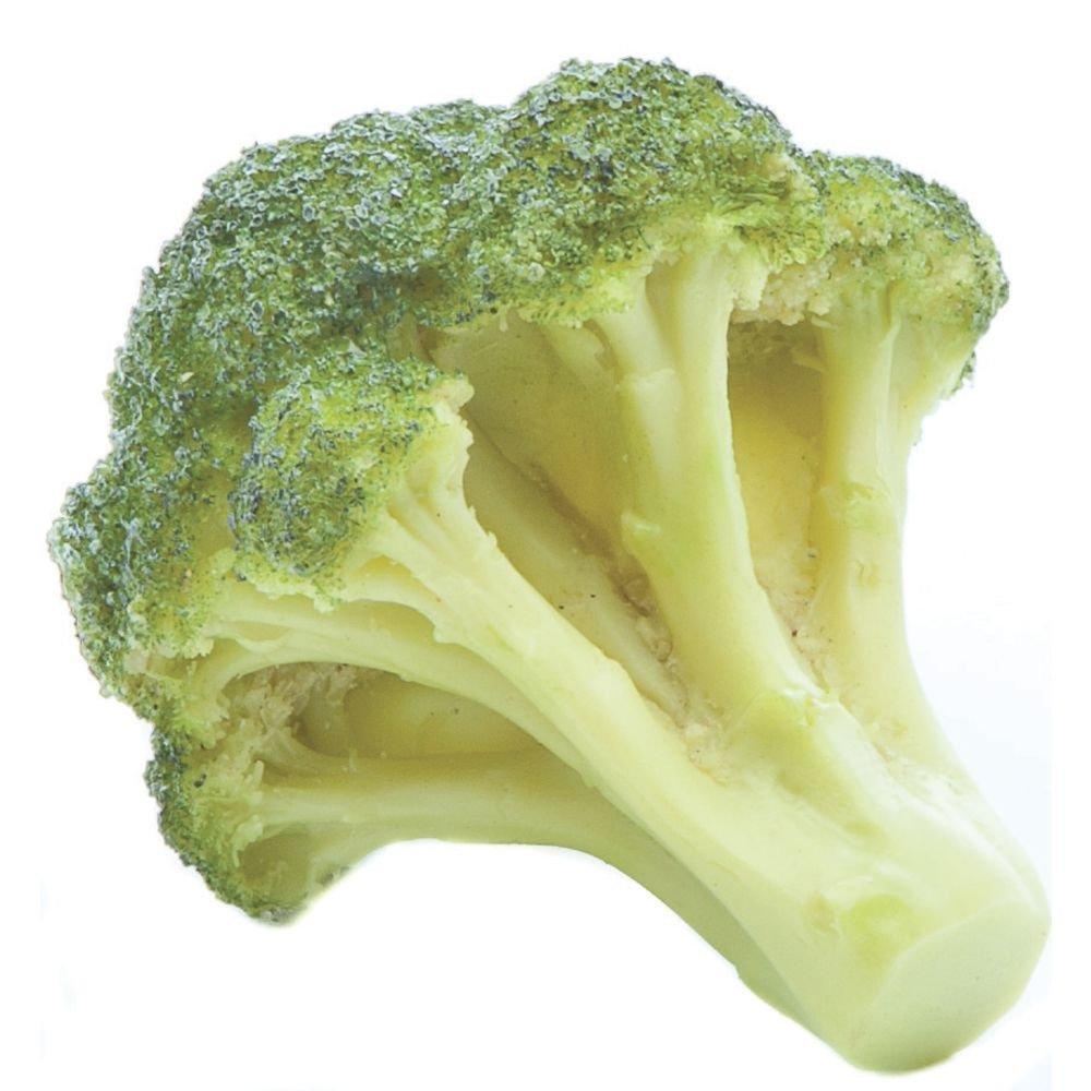 Replica Broccoli Bunch Green Plastic - 5'' L