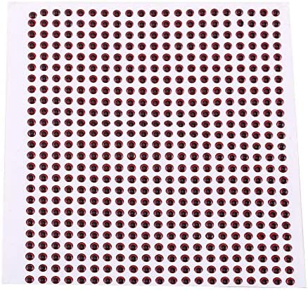 500PCS 3-6mm Fish Eyes 3D Holographic Lure Eyes Fly Tying Jigs Crafts Dolls YT