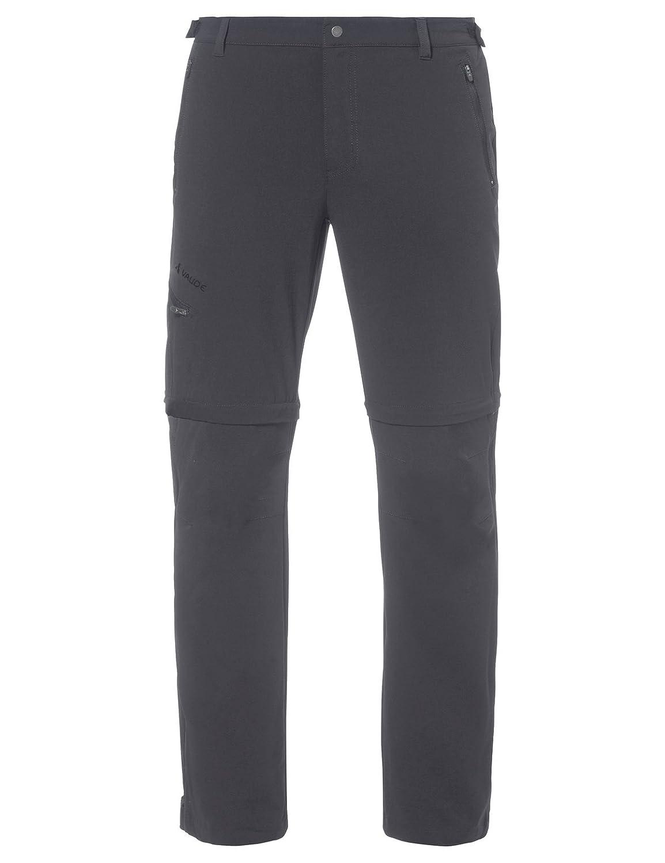 gris 56-L VAUDE Hommes's Farley Pantalon Stretch T-Shirt Zip Pants