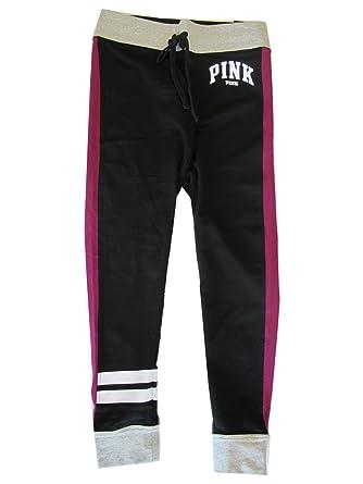 e1ac014680c3e Amazon.com: Victoria's Secret PINK Yoga Campus Legging Small Black ...