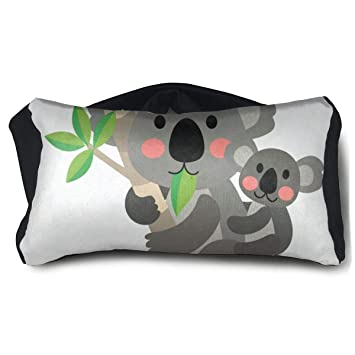 Amazon.com: AHDJGJOT Koala FamilySilk Sleep Eye Mask ...