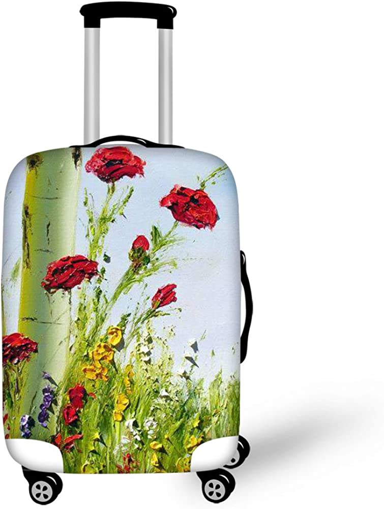 Bigcardesigns Painting Photos Luggage Protective Covers for 18-30 Suitcase