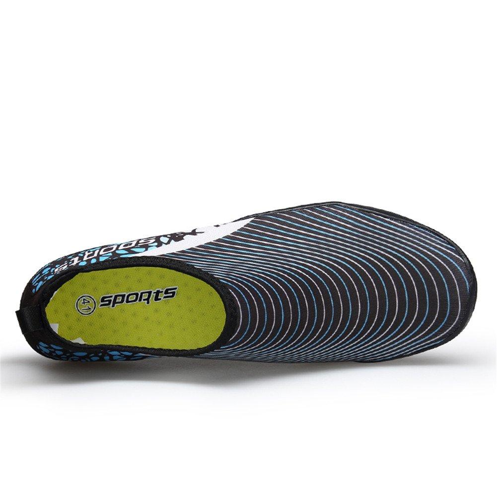TORISKY Unisexe Chaussures Aquatiques Sport Nautique S/échage Rapide Respirant Chaussons de Plage pour Homme Femme