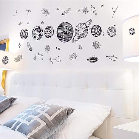Vinilos Decorativos Para Paredes De Habitaciones.Vinilos Decorativos Para Habitaciones Infantiles I Planetas
