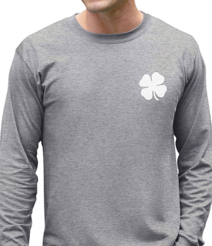 Irish Shamrock Pocket Size Clover St. Patrick's Day Long Sleeve T-Shirt