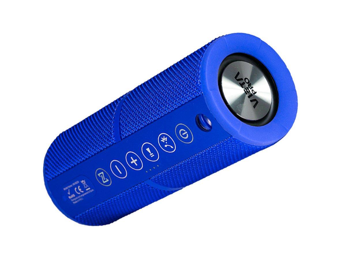 Vieta VM-BS39BL - Altavoz inalámbrico portátil con Bluetooth, color azul