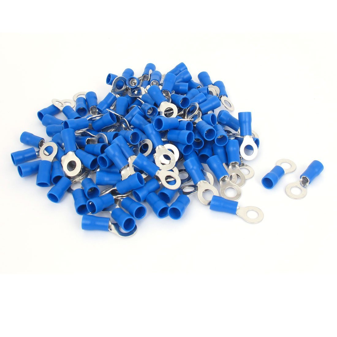 20x BM00325 Ring terminal M5 /Ø5.2mm 4/÷6mm2 crimped for cable insulated
