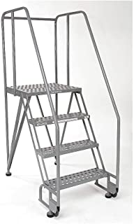 product image for Rolling Ladder, Handrail, Platform 30 In H