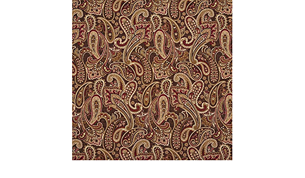 New World Tapestry Paisley Designer Fabric Designer Heavyweight Woven Tapestry Crafting Soft Furnishings Upholstery Fabric 140cm 54\u2033 Approx