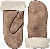 Hestra Women's Sheepskin Leather Mitten,Beige,7