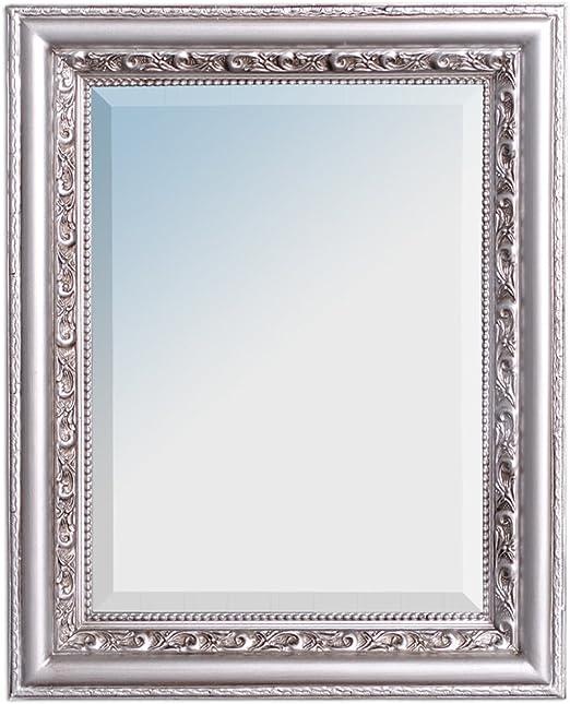Wandspiegel ARGENTO 120x60cm Gold-Antik Spiegel Barock Holzrahmen Facette