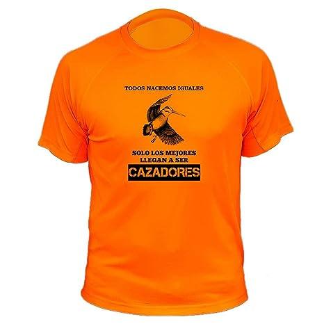 Camisetas personalizadas de caza, Todos nacemos iguales, Ideas regalos, Becada (30145,