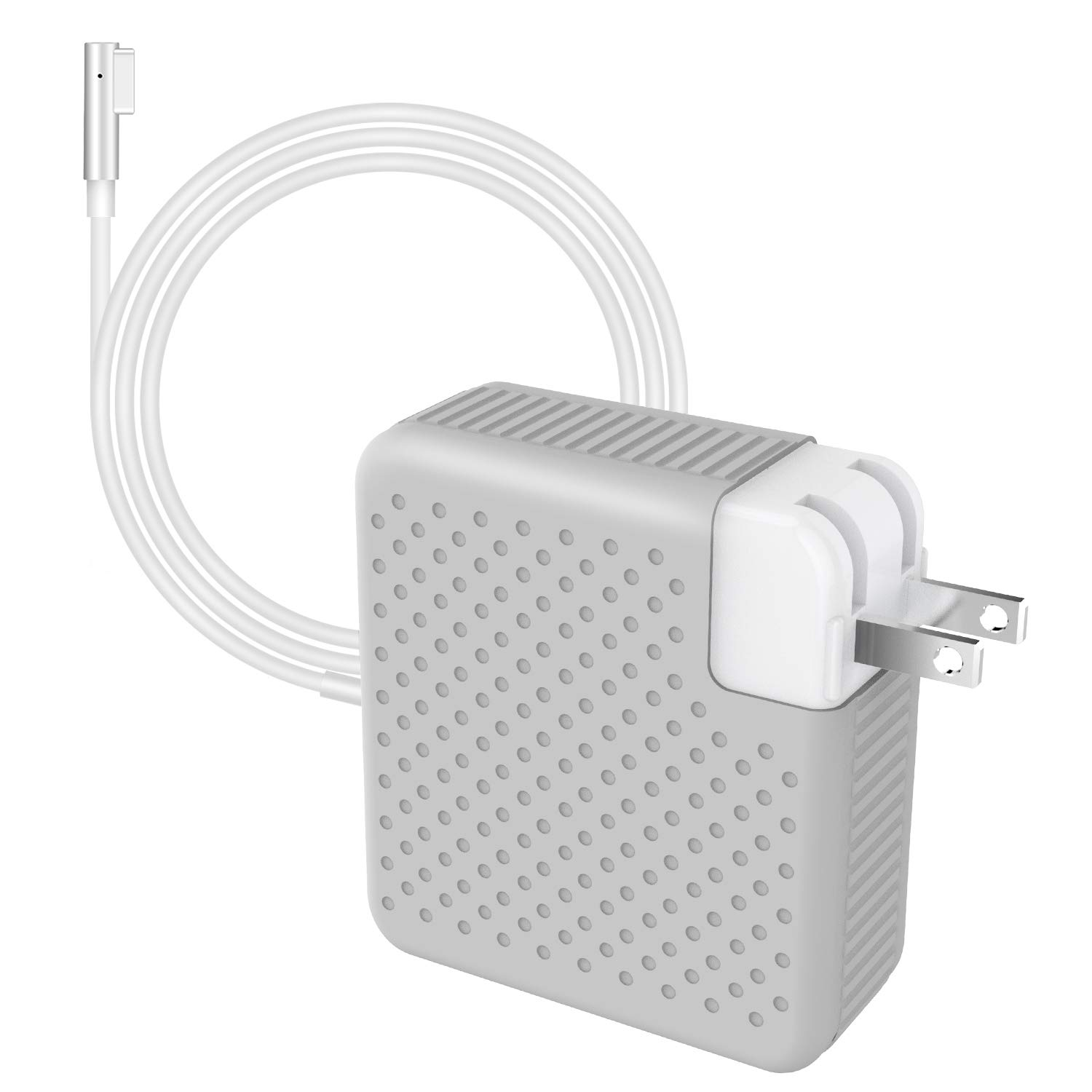 MITIME Replacement Compatible With Macbook Pro Charger 85W Mag safe Magnetic L-Tip Power Adapter Works with 45W, 60W & 85W MacBooks, Charger for MacBook Pro 13''15''17''(Before Summer 2012 Models)