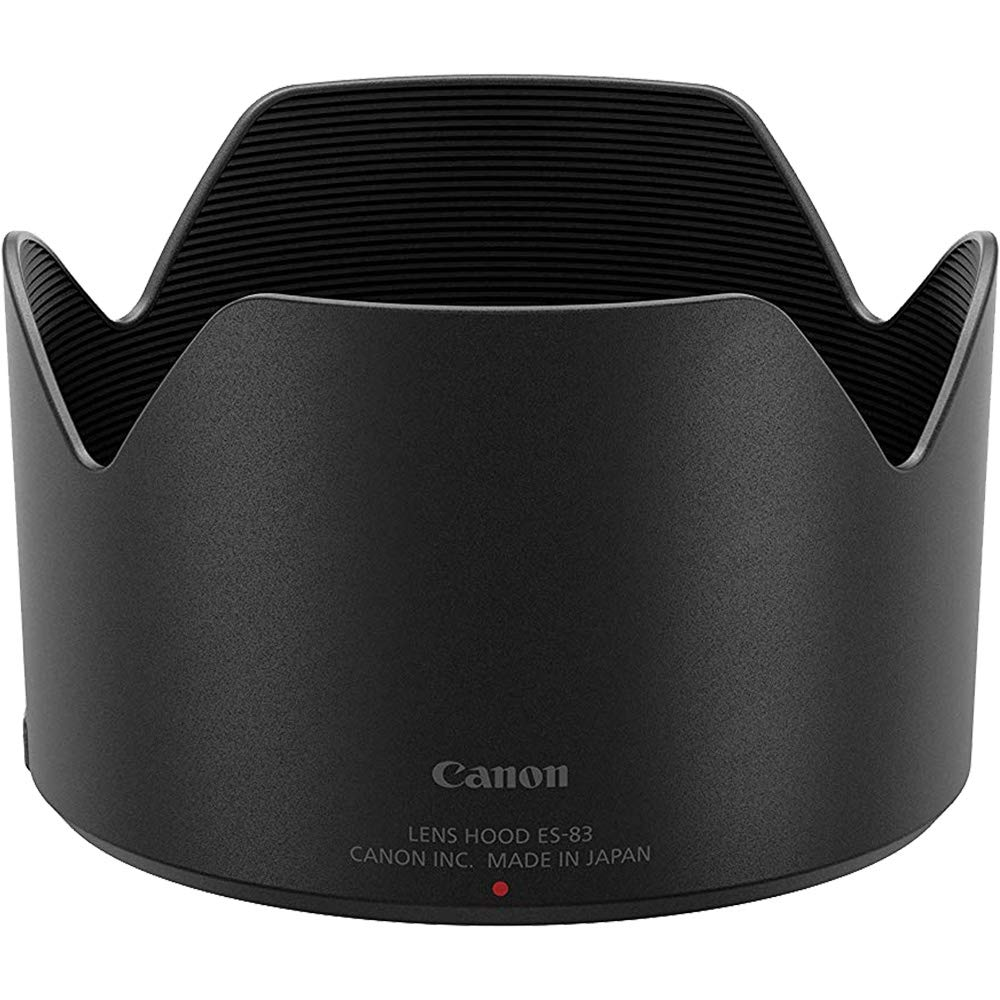 Canon ES-83 Lens Hood for RF 50mm f/1.2 L USM with 3 UV/CPL/ND8 Filters + Strap + Cleaning Kit by Canon (Image #2)