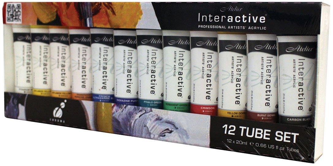 Chroma Atelier Interactive Acryl 20ml 12-Tube by Chroma (Image #2)